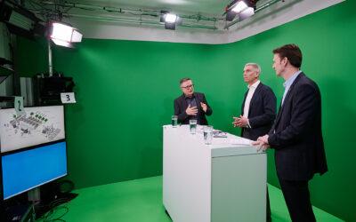 Digitale Pressekonferenz von Shell